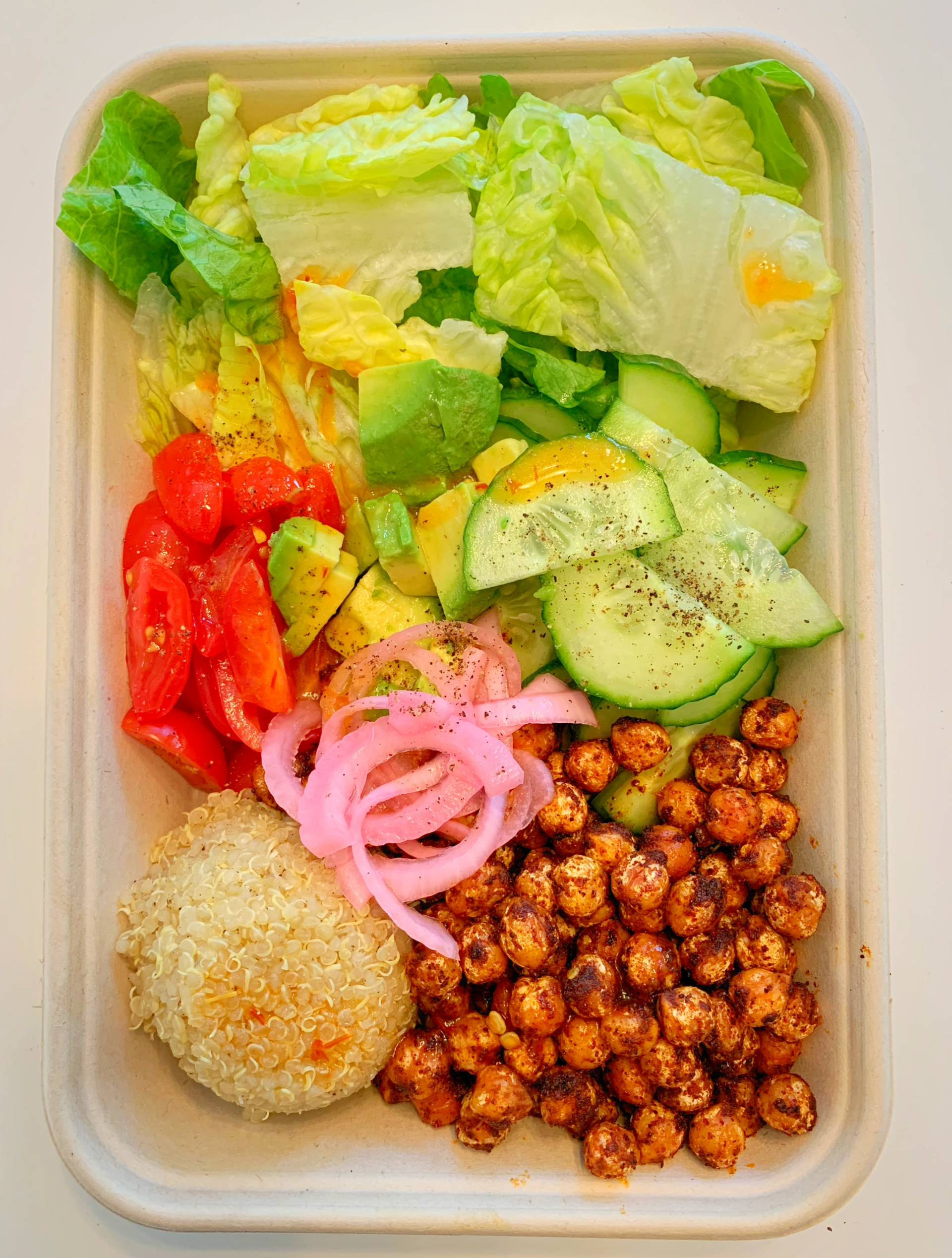 Spiced Chickpea Bowl
